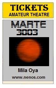 Marte 3003 por Mila Oya