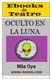 Oculto en la Luna por Mila Oya