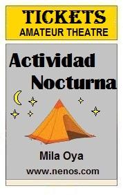 Actividad nocturna por Mila Oya